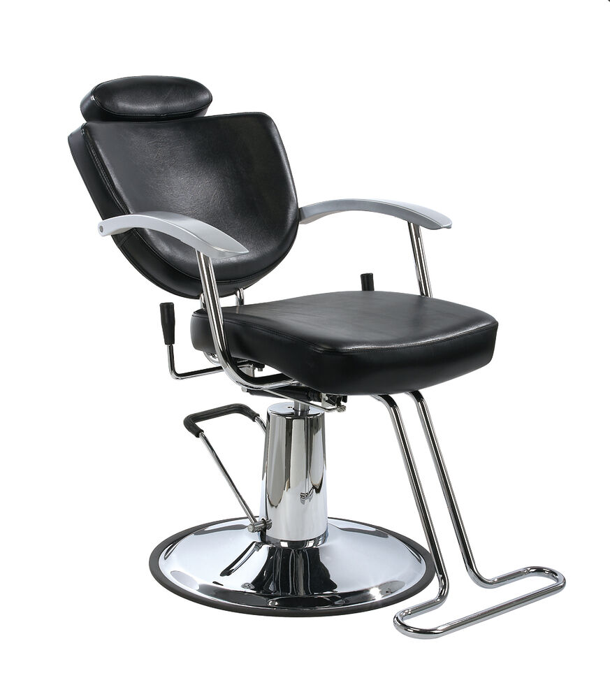 New black fashion all purpose hydraulic recline barber for Chairs in salon