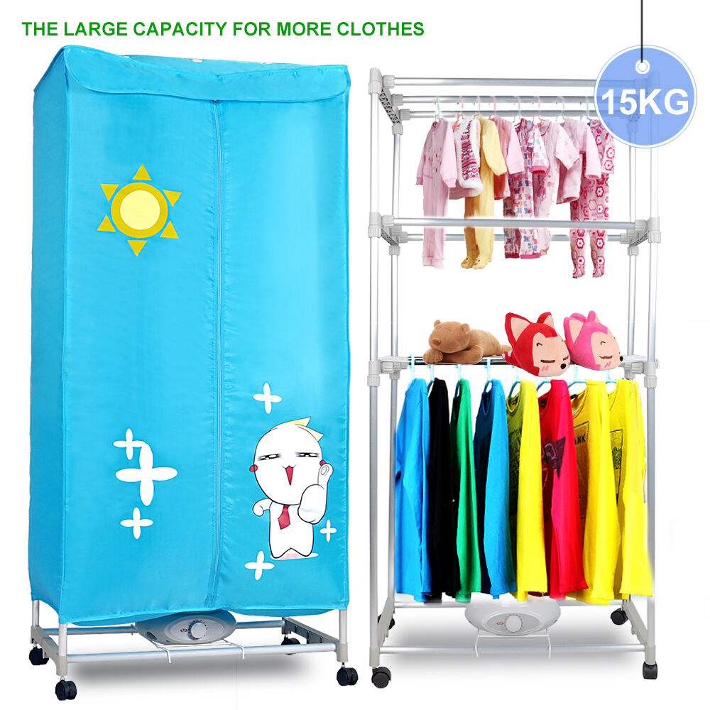 Clothes Drying Machine ~ Electric clothes dryer rack hug flight layers wardrobe