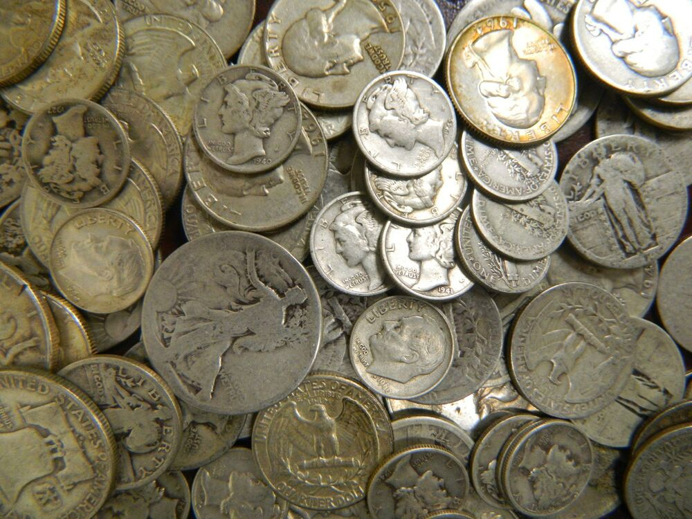 1 10 Face Value 90 Silver U S Junk Coins Buy Silver Now
