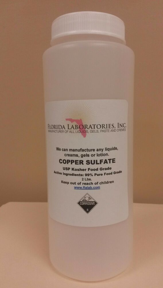 Copper Sulfate Pentahydrate crystal 99% Pure 2 Lbs. | eBay