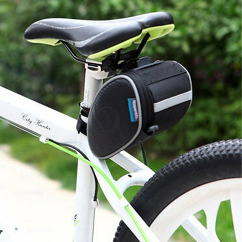 Bicycle Waterproof Storage Saddle Bag Bike Seat Cycling Rear Pouch Outdoor Bag