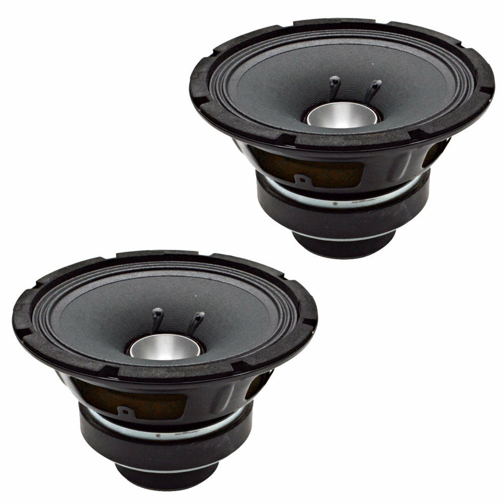 seismic audio pair of 8 inch coaxial speakers 200 watts pro audio 8 ohm new ebay. Black Bedroom Furniture Sets. Home Design Ideas