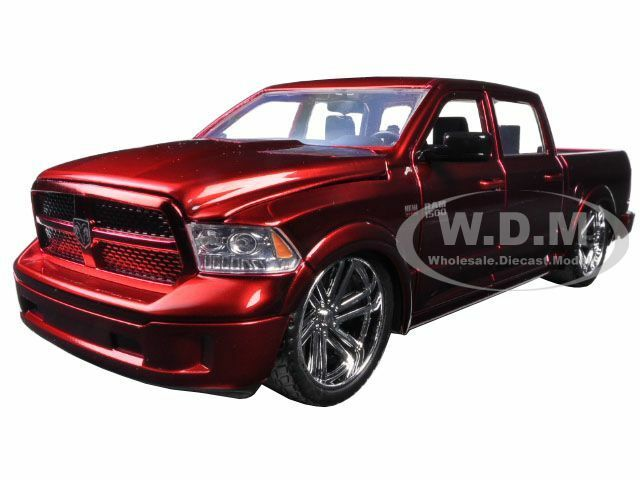 2014 dodge ram 1500 custom edition red 1 24 diecast model car by jada 54040 ebay. Black Bedroom Furniture Sets. Home Design Ideas