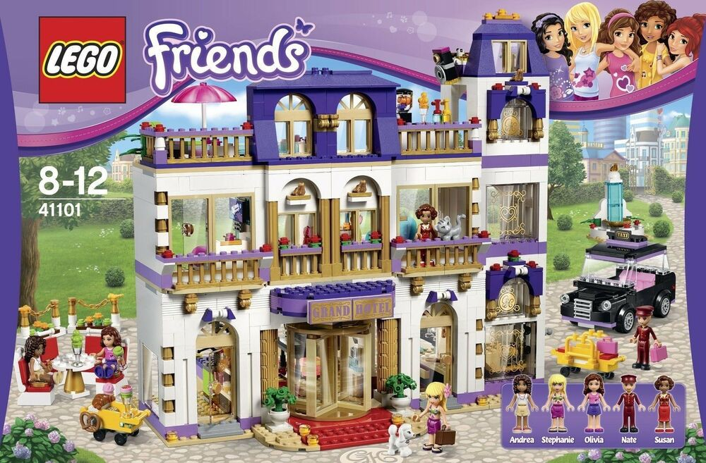lego friends 41101 heartlake grosses hotel neu ovp 673419229388 ebay. Black Bedroom Furniture Sets. Home Design Ideas