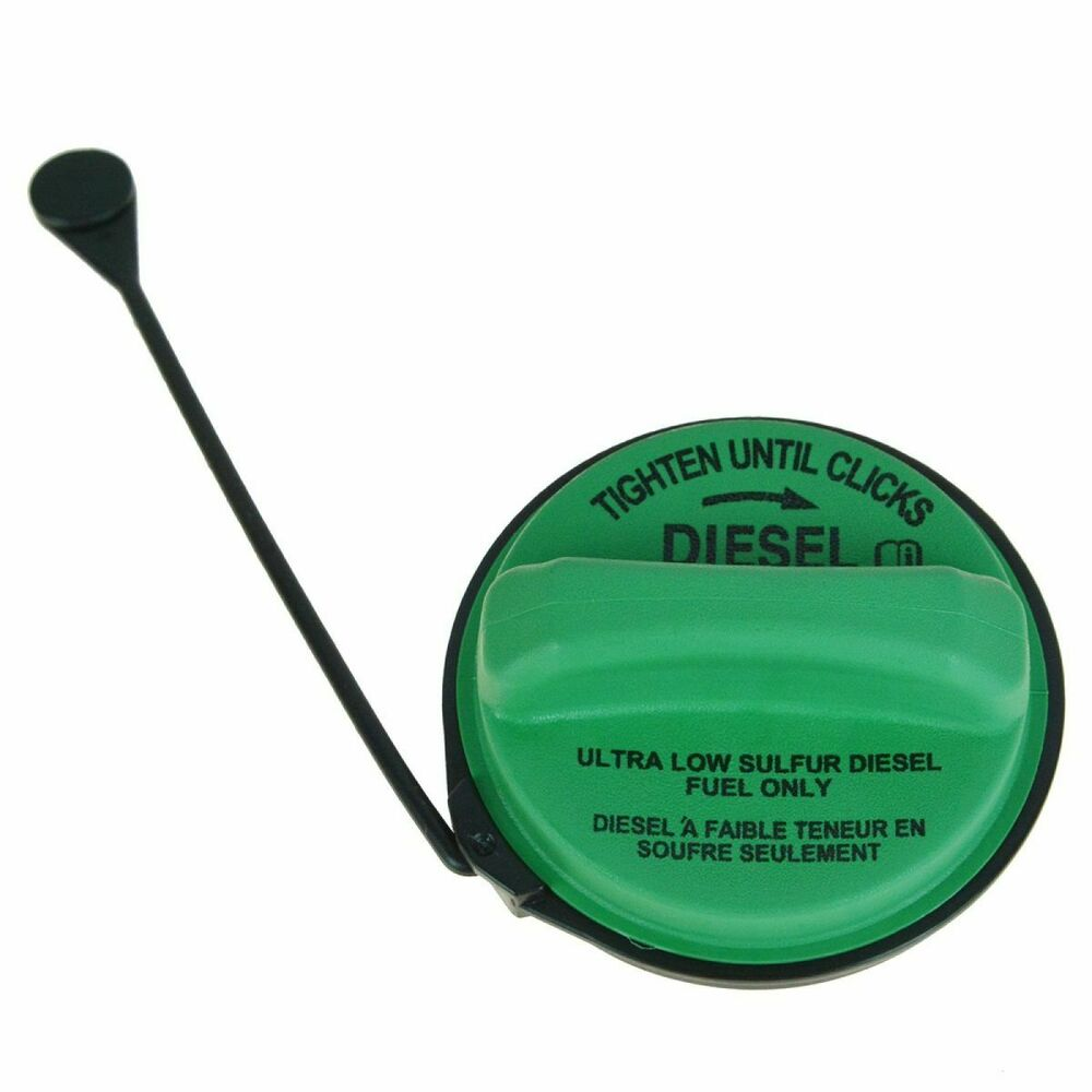 motorcraft fc1068 green diesel fuel tank gas cap w tether for ford super duty ebay. Black Bedroom Furniture Sets. Home Design Ideas