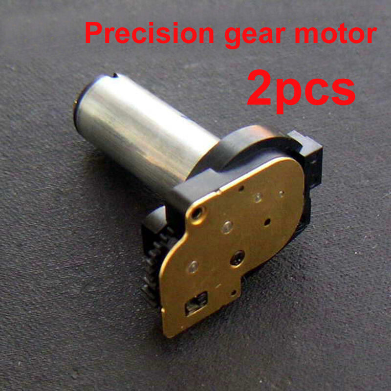 2pcs dc 3v 5v small gear motor mini gearmotor reduce gear Miniature gear motors