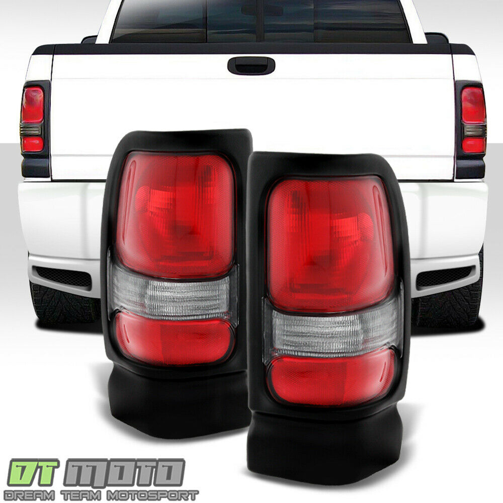 1994 2001 dodge ram 1500 pickup replacement tail lights lamps 94 01. Black Bedroom Furniture Sets. Home Design Ideas
