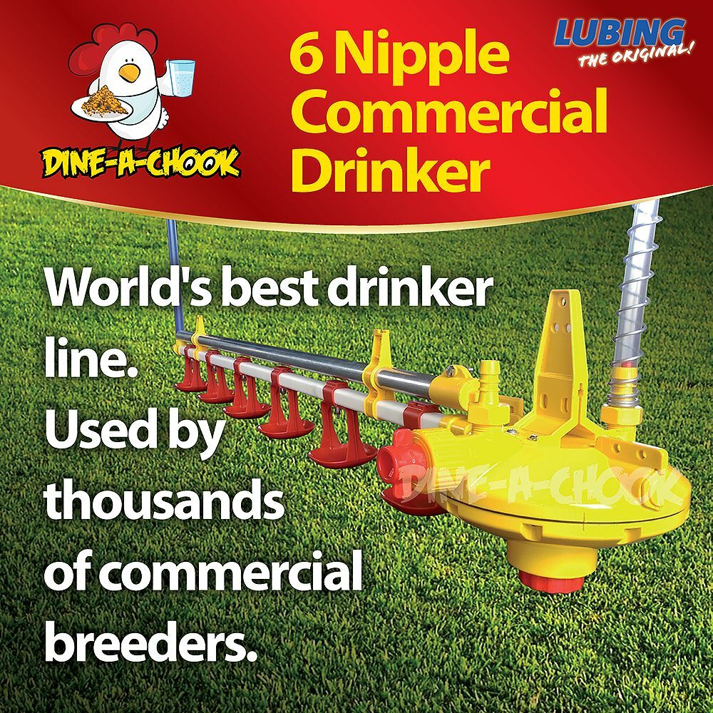 how to make a chicken nipple waterer