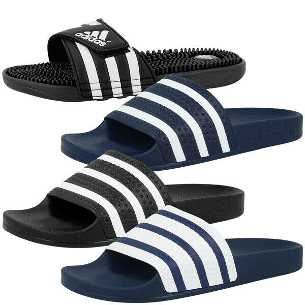 adidas badelatschen adilette adissage sc slide badeschuhe. Black Bedroom Furniture Sets. Home Design Ideas
