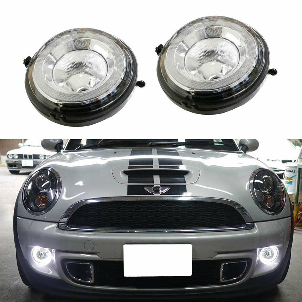 Direct Fit Led Halo Daytime Running Lights Fog Lamps