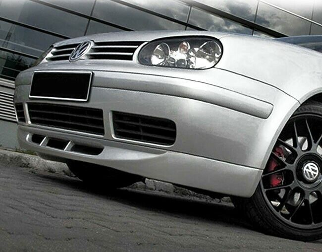 vw golf 4 mk4 front bumper chin spoiler lip valance. Black Bedroom Furniture Sets. Home Design Ideas