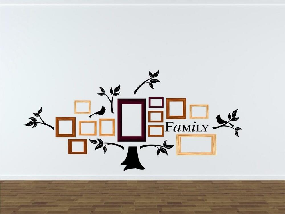 Family Tree Branches Amp Birds Vinyl Decal Wall Sticker