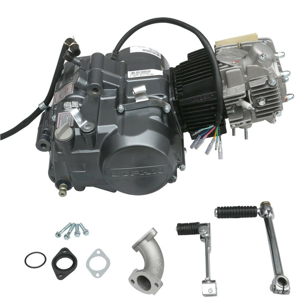 V Twin Quad Engine: 140CC LIFAN 4-Stroke Engine Motor Kick Start For ATV QUAD