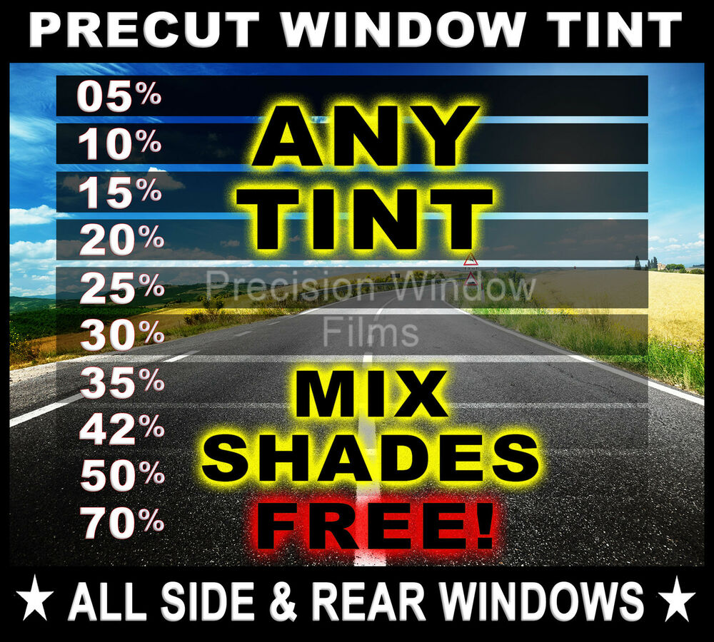 Precut All Sides Amp Rears Window Film Any Tint Shade For