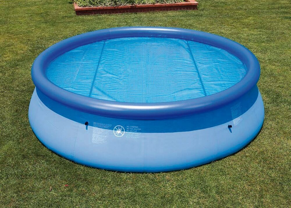 8ft 10ft Fast Prompt Set Floating Thermal Solar Swimming Pool Cover Paddling Ebay