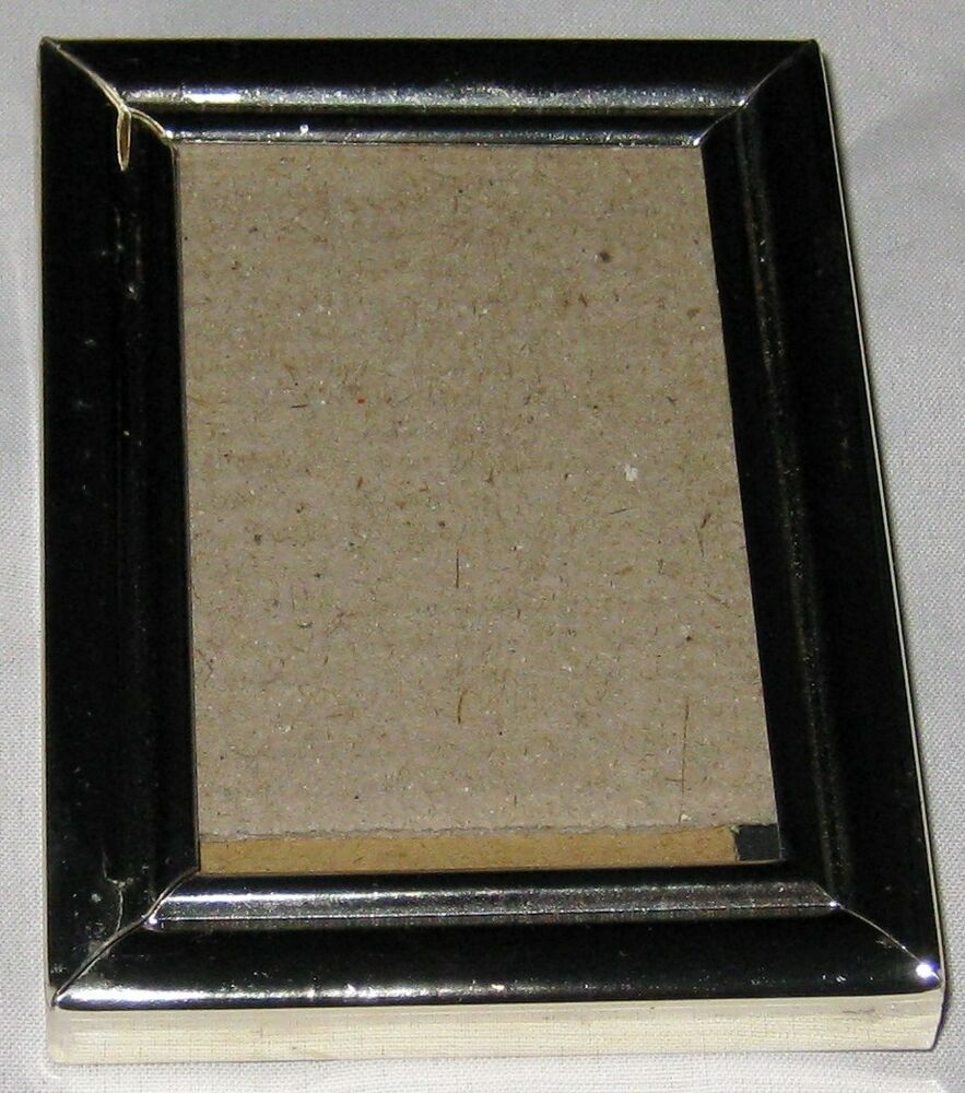 Brass Metal 3 1 4 X 4 1 4 Picture Frame Ebay