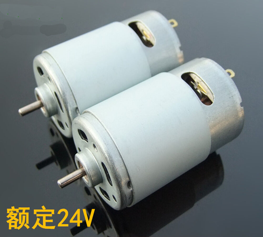 Dc 12v 21000rpm high speed large power johnson 550 motor for Large dc electric motor