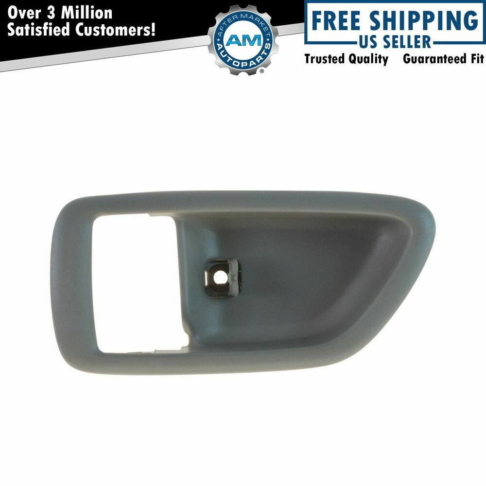 Interior Door Handle Bezel Driver Side Front Or Rear Charcoal For Tundra Sequoia Ebay