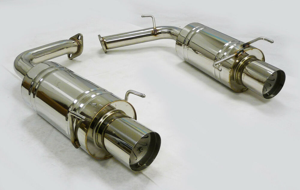 obx axle rear back exhaust fits 2007 2008 2009 toyota. Black Bedroom Furniture Sets. Home Design Ideas