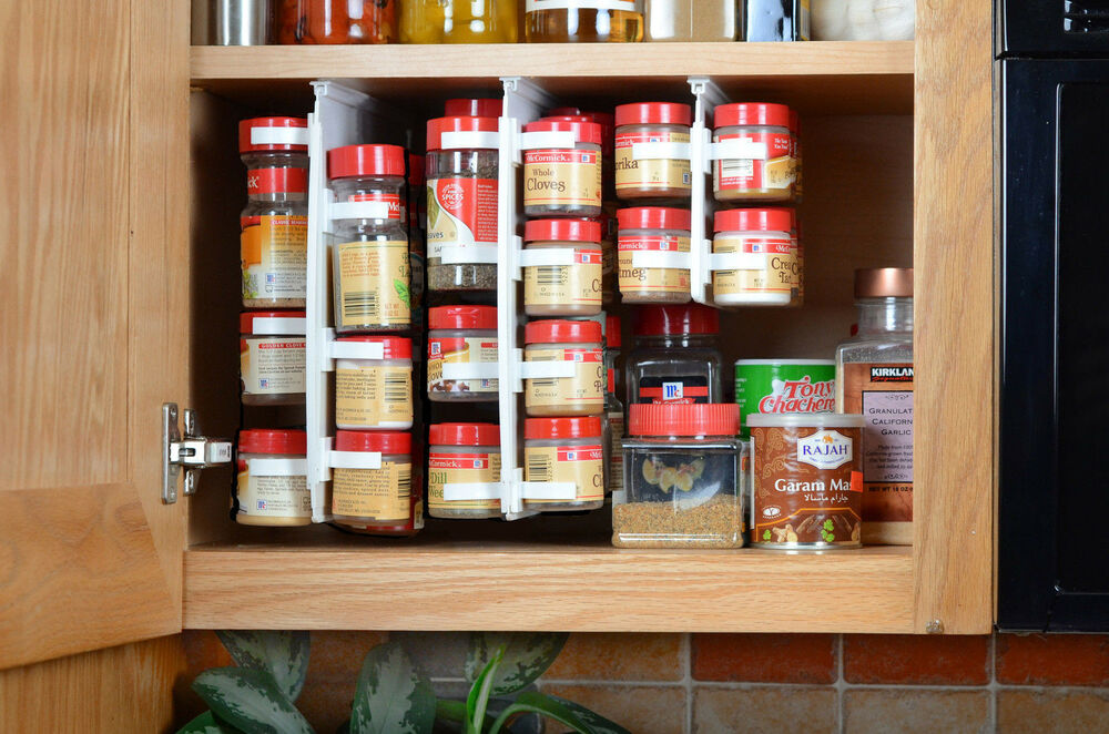 Spice Rack For Inside Kitchen Cabinet