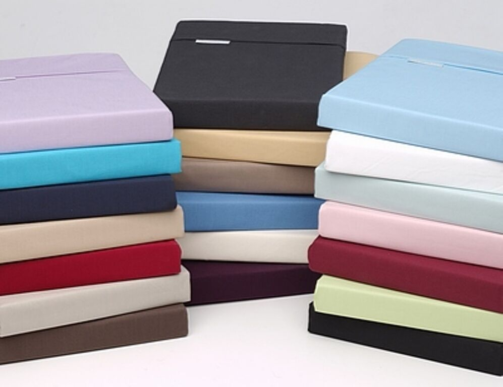 180 thread count polly cotton flat bed sheets percale for High thread count sheets