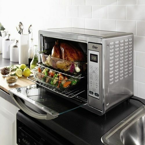Cooking In Countertop Convection Oven : Kitchen Convection Oven Extra Large Counter Top Appliances Grill ...