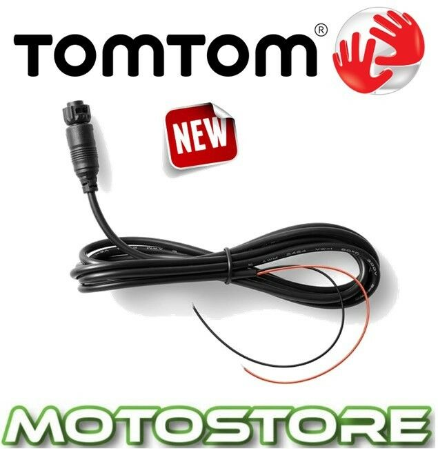 Tomtom Rider 40 400 410 Battery Power Cable Motorcycle Sat