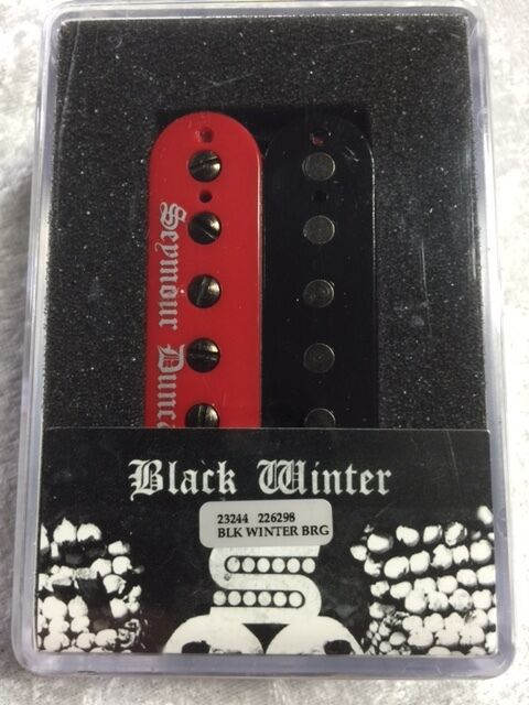 Black Winter Pickup : seymour duncan black winter bridge humbucker in red black zebra guitar pickup 601202222834 ebay ~ Vivirlamusica.com Haus und Dekorationen