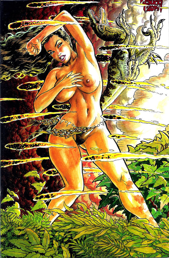 CAVEWOMAN FALLEN #1 BUDD ROOT Special Edition NUDE Cover ...
