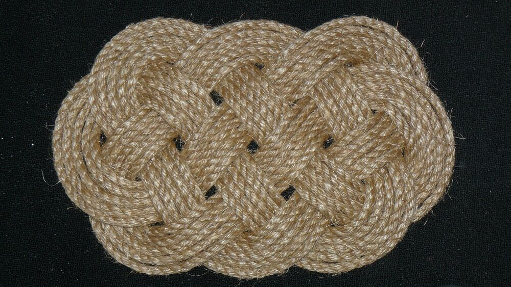 Nautical Rope Door Mat Boat Chafing Mat Made In Usa Ebay