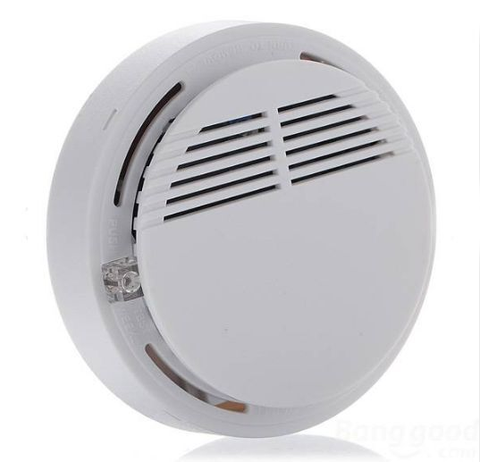 fire smoke detector portable sensitive photoelectric wireless alarm sensor quali ebay. Black Bedroom Furniture Sets. Home Design Ideas