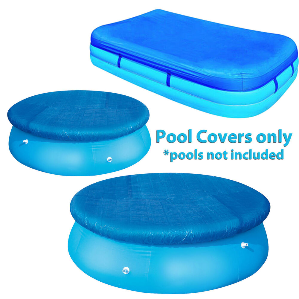 Swimming pool covers protector paddling pools protector for Garden pool covers