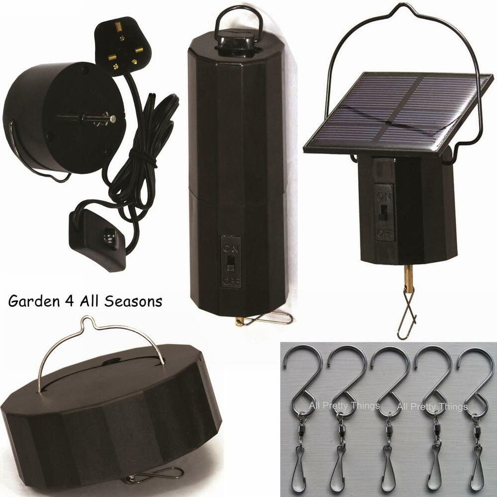 Motors Solar Electric Battery For Wind Spinners Crystal