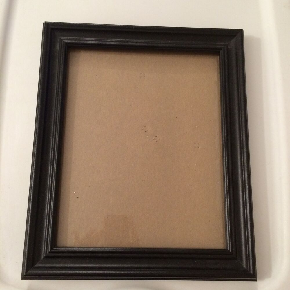 Black Frame 8 X 10 Picture Opening Ebay