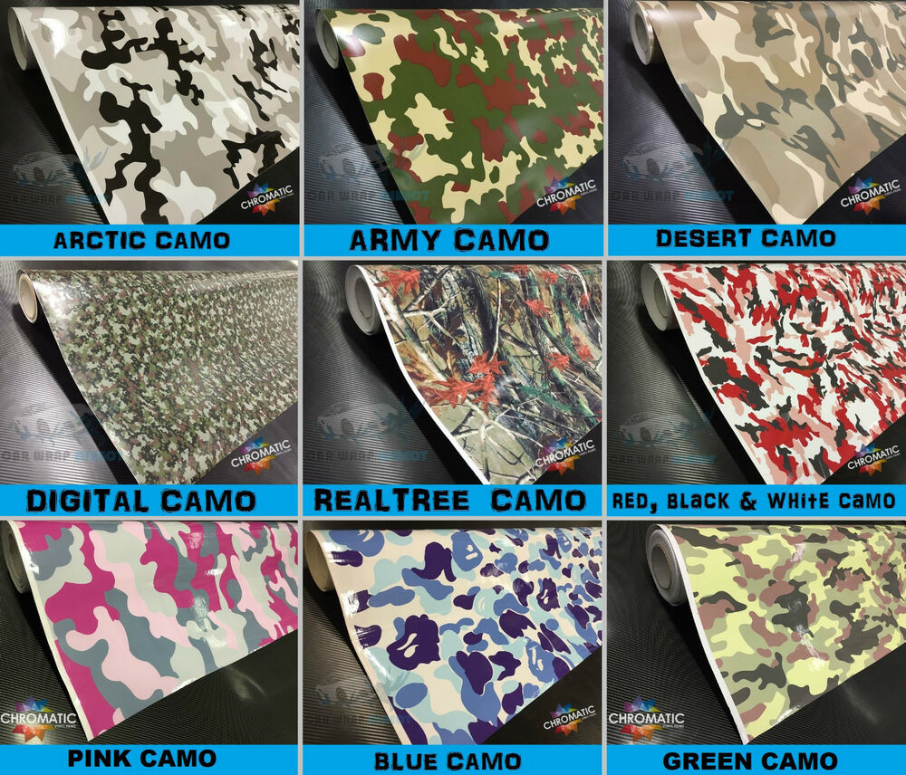 Camo Wrap Car Amp Bike Wrapping Camouflage Vinyl Foile