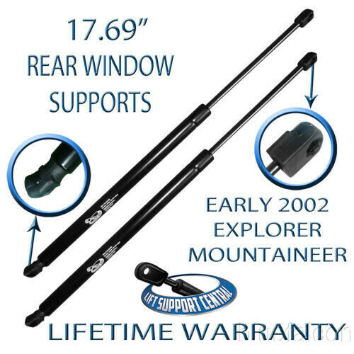 """04 Mountaineer Fuse Box: 17.69"""" Rear Window Glass Lift Supports Strut For Early"""
