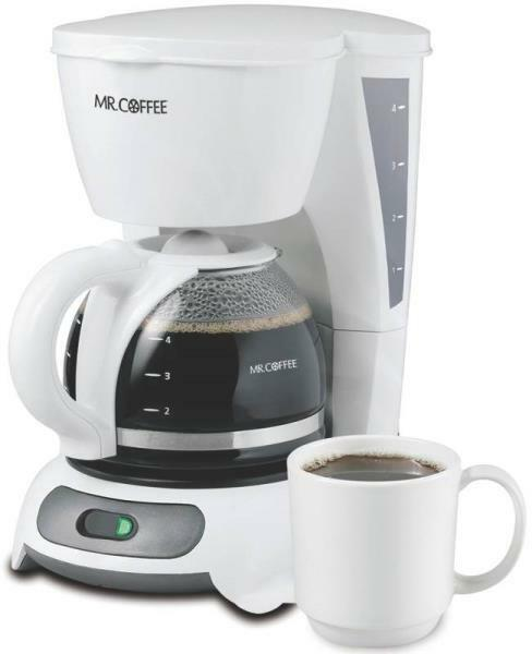 NEW SUNBEAM MR COFFEE DR4-NP 4 CUP COFFEE MAKER BREWER ELECTRIC NEW 4039392 72179226406 eBay