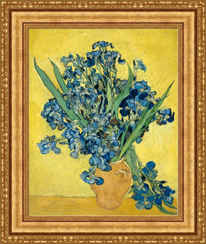 Vincent van gogh vase of irises against a yellow background 225 vincent van gogh vase of irises against a yellow background 225x27 v06 43 ebay reviewsmspy