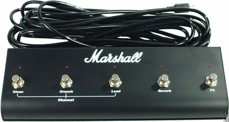 Original Marshall Tsl Jcm 2000 Five 5 Button Footswitch