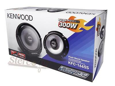 1 x KENWOOD 6.5-Inch 2-Way Car Audio Coaxial Speaker 300Watts (Pair)