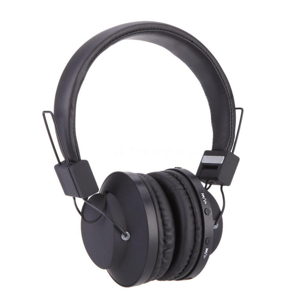 Wireless headphones bluetooth with microphone - headphones with microphone black