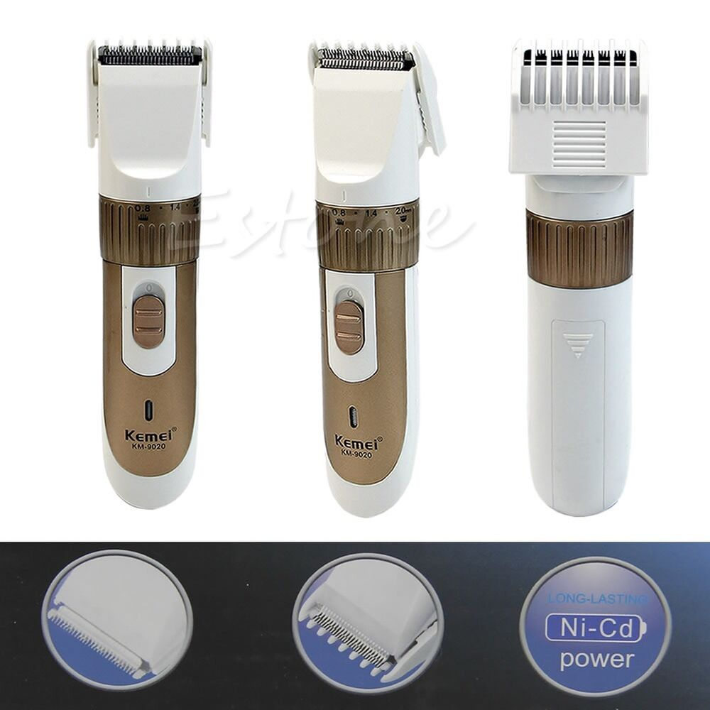 rechargeable men 39 s electric shaver razor beard hair clipper trimmer grooming kit ebay. Black Bedroom Furniture Sets. Home Design Ideas