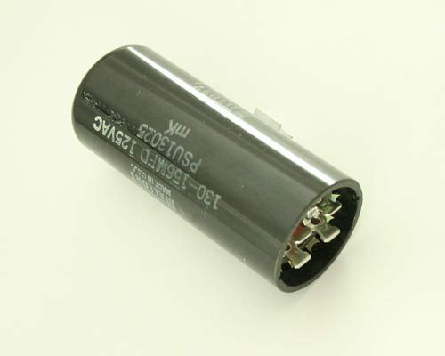 2x 130uf 156uf 110 125vac motor start capacitor 130 156mfd for How to test a motor start capacitor