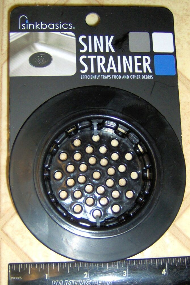 Sinkbasics KITCHEN SINK Rubber BASKET Drain Sink Basic