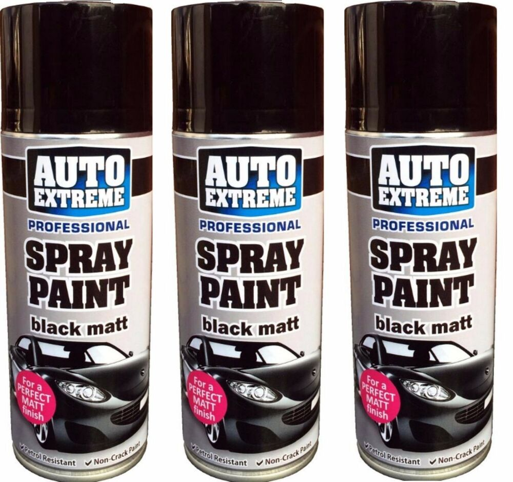 matt spray paint aerosol can auto extreme car van bike etc ebay. Black Bedroom Furniture Sets. Home Design Ideas