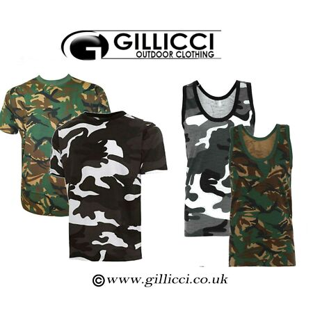 img-MENS SUMMER GYM WORKOUT CAMO CAMOFLAUGE ARMY SHORT SLEEVE T-SHIRT VEST TANK TOP