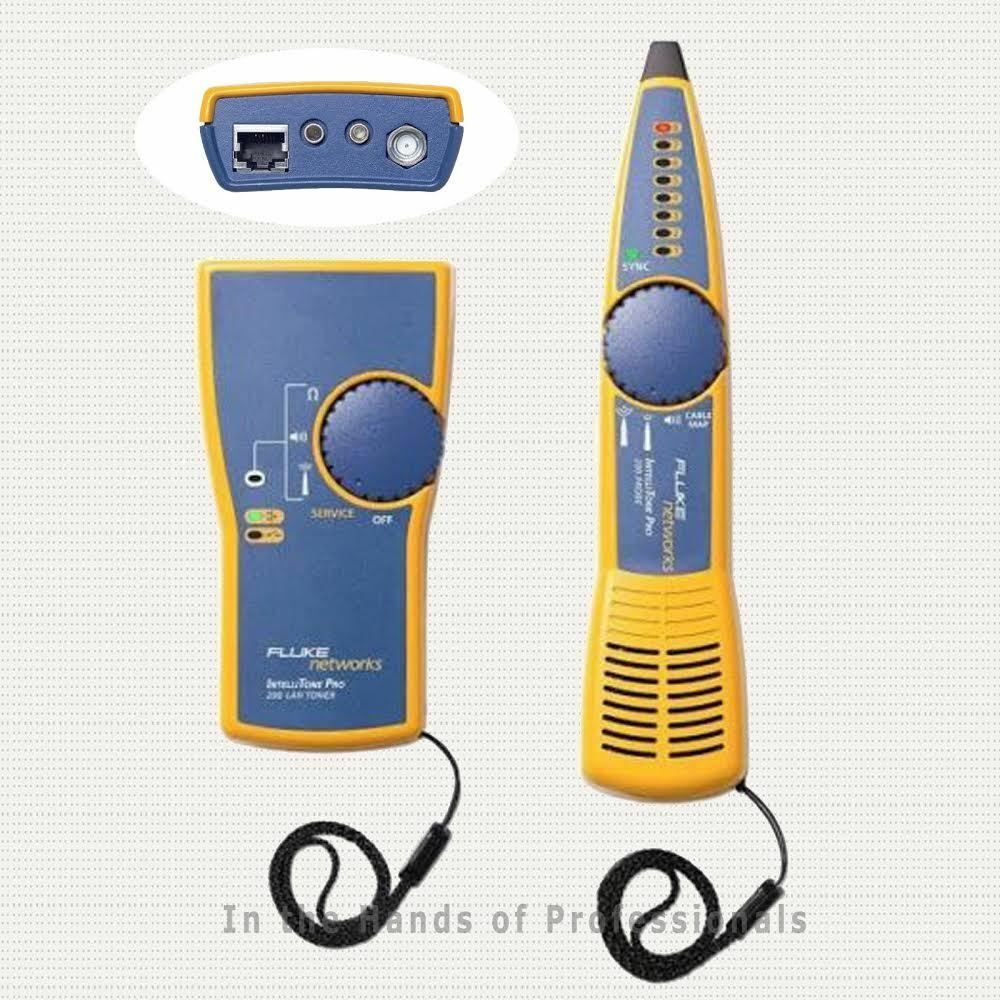 Fluke Network Tester : Fluke networks mt kit intellitone pro c