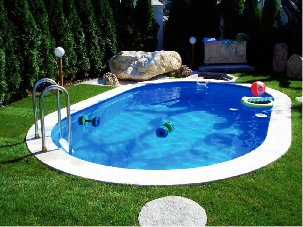 stahlwandpool oval pool stahlwandbecken ovalpool ovalbecken schwimmbad ebay. Black Bedroom Furniture Sets. Home Design Ideas