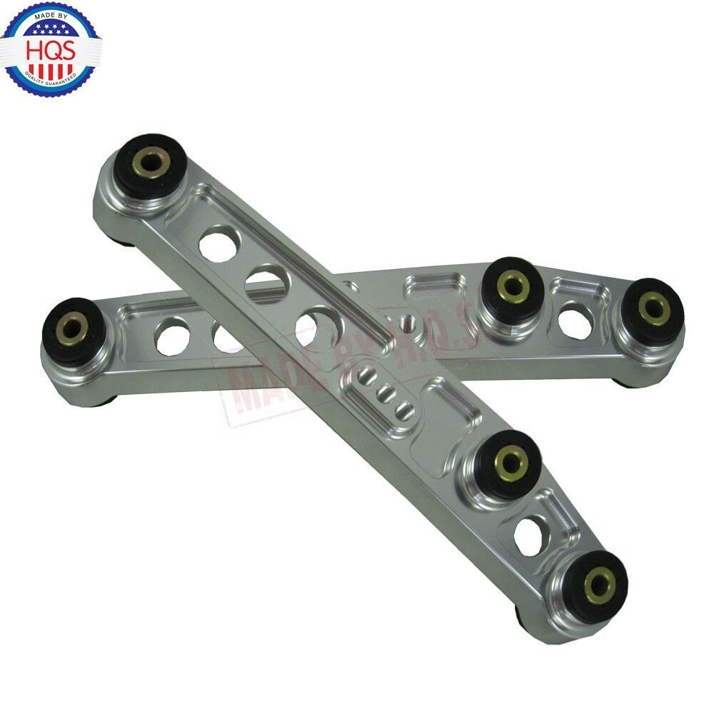 Dme Suspension Rear Lower Control Arms For 1998 Honda Civic: NEW SILVER JDM Rear Suspension Lower Control Arms For 1992