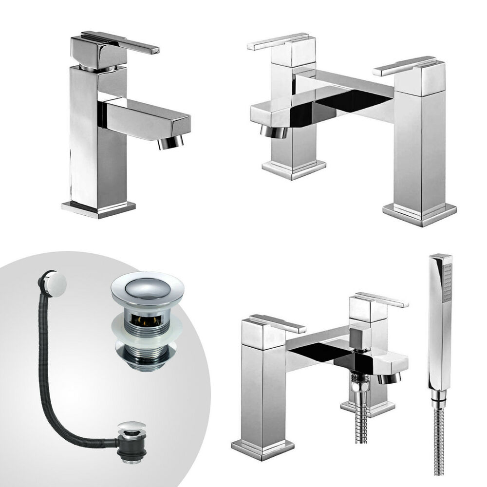 AUSTIN BATHROOM TAP SET BATH FILLER BATH SHOWER MIXER MONO ...